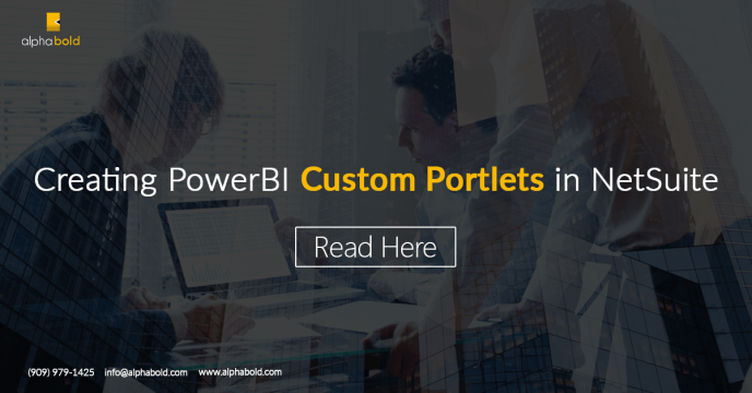 PowerBI Custom Portlets in NetSuite