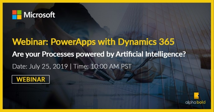 Webinar: PowerApps with Dynamics 365