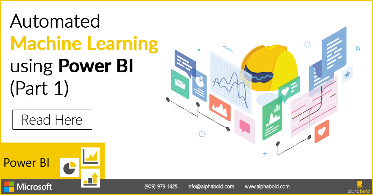 Automated Machine Learning Power BI