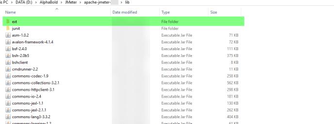 Plugin Jar files to JMeter 2
