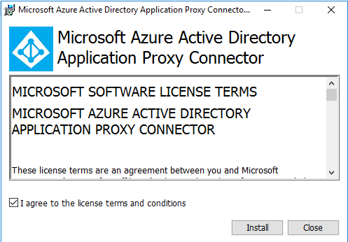 Install the Proxy Connector Services
