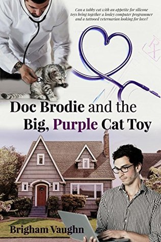 Doc brodie and big purple cat toy