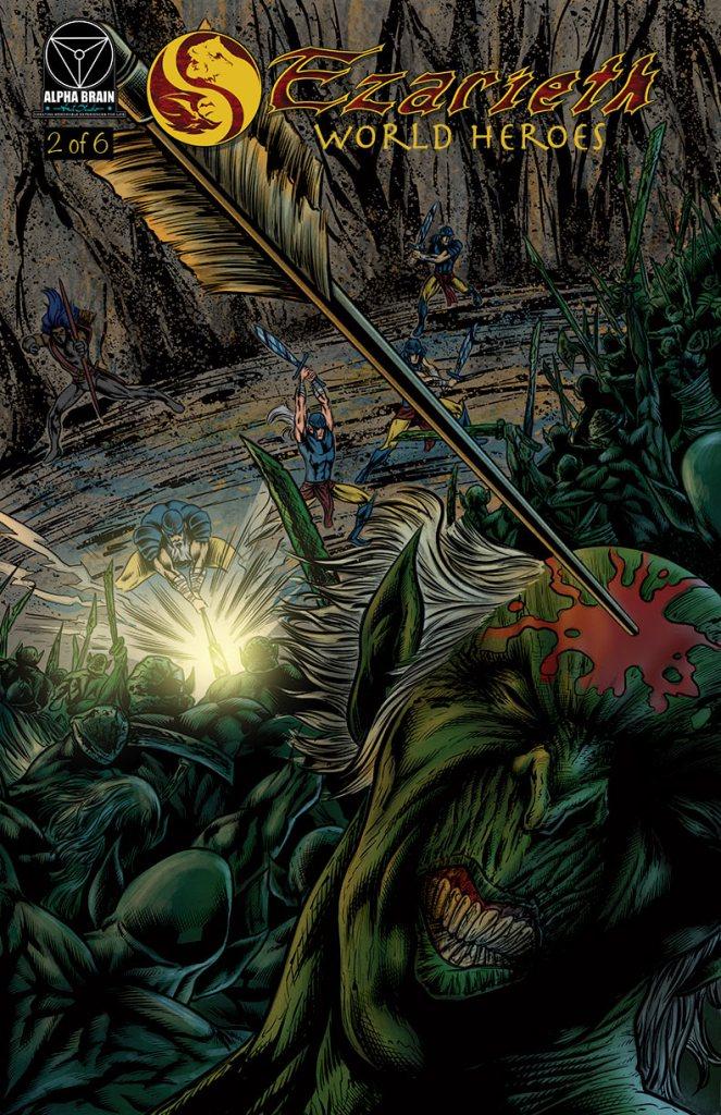 Ezarieth #2 Comic Book for Fantasy and Adventure fans