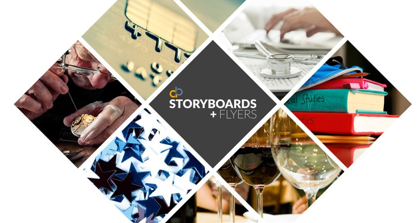 Storyboards and Flyers