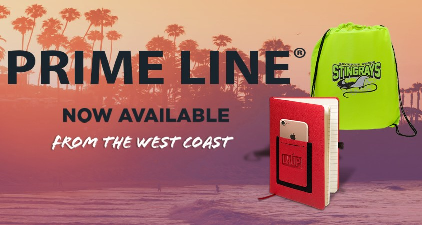 Prime Line Promotional Products Now Available On The West Coast