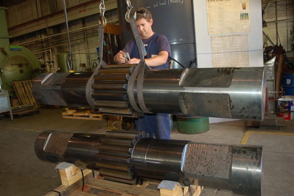 Large Pinion Shaft