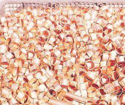 Copper Crimping Rings Bright Annealed in Vacuum Furnace