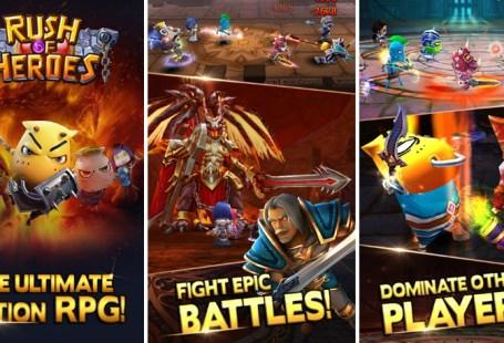 Rush of Heroes screenshot