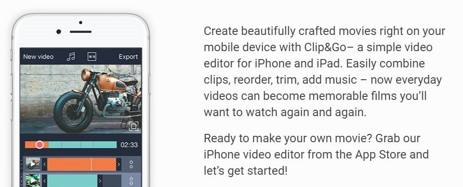 clip&go app