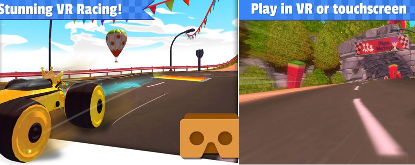 All Star Fruit Racing VR featured