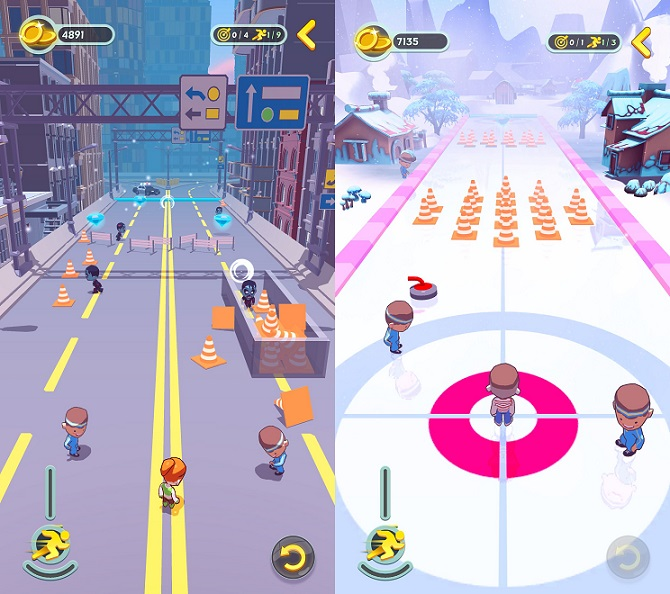 Curling Buddies screenshot
