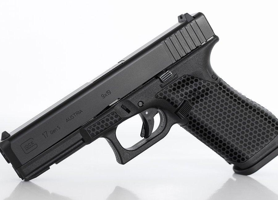 """Glock """"Hex"""" Laser Stipple"""