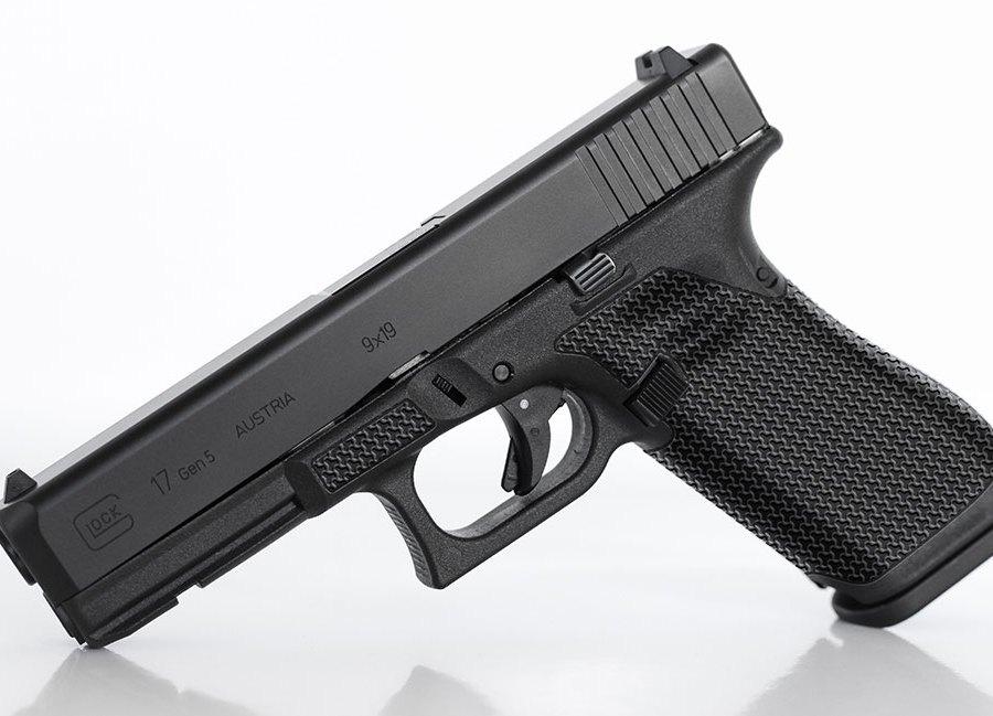 """Glock """"Battle Weave"""" Laser stippling"""