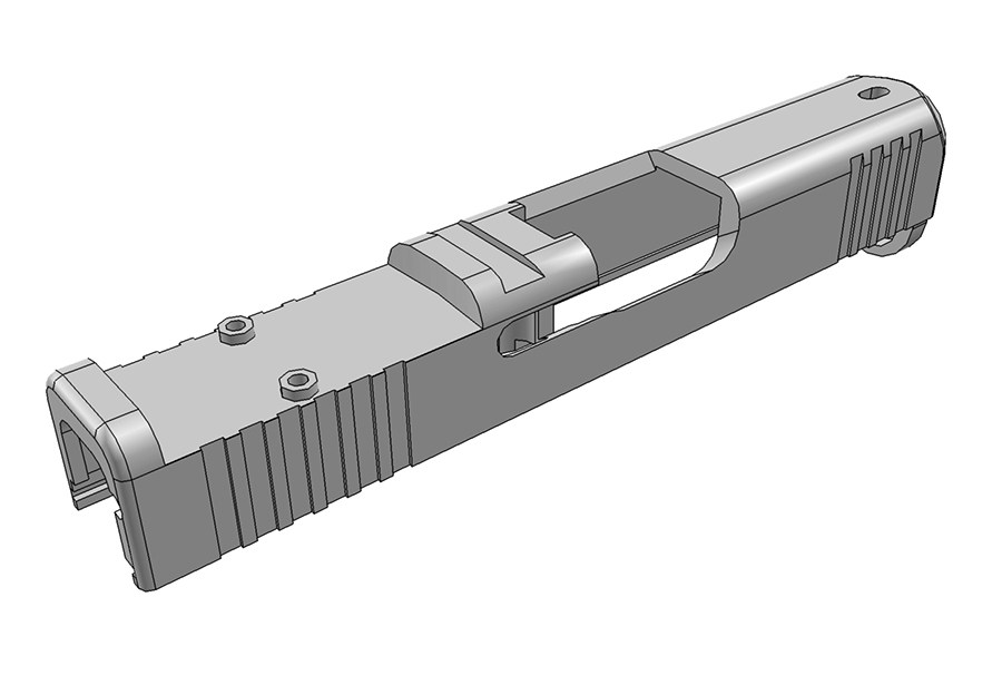 Trijicon RMRcc slide Milling
