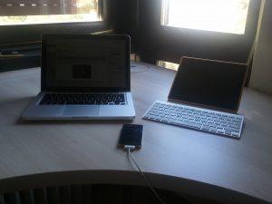 iPhone, iPad and MacBook Pro