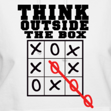 outside of the box thinking