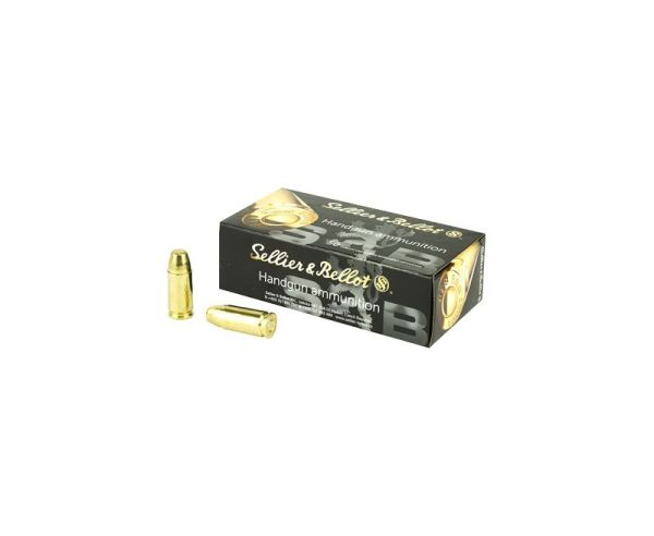 Sellier and Bellot Subsonic FMJ 150 Grain 9mm 50 Rounds