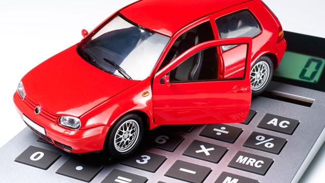 car-loans-with-no-credit-illustrated-with-car-and-calculator