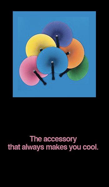 Colorful Folding Fans