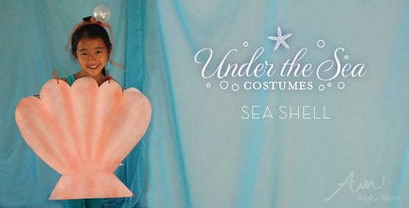 DIY Under-the-Sea Costumes Sea Shell  sc 1 st  Alpha Mom & DIY Under-The-Sea Costumes: Fish! | Alpha Mom