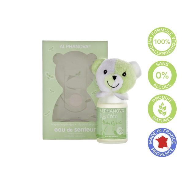 Baby green scent, hypoallergenic fragrance-free - Alphanova baby