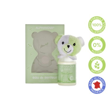 Baby green scent, hypoallergenic fragrance-free - Alphanova baby