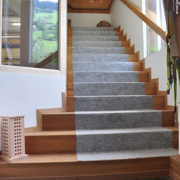 Wooden Stairs protected by Allprotect