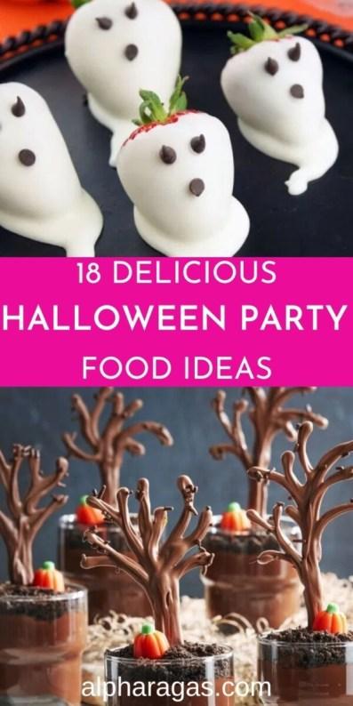Get delicious Halloween food ideas