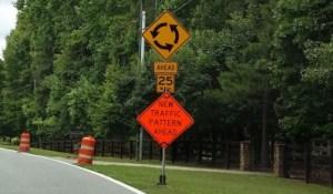 Milton GA Roundabout