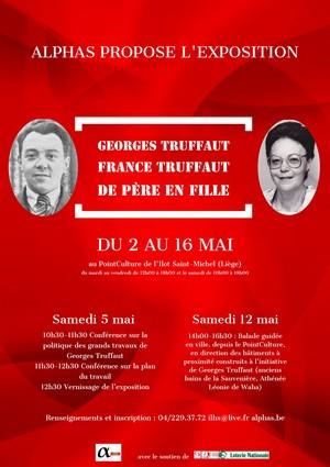 """Exposition """"Georges et France Truffaut : de père en fille"""""""