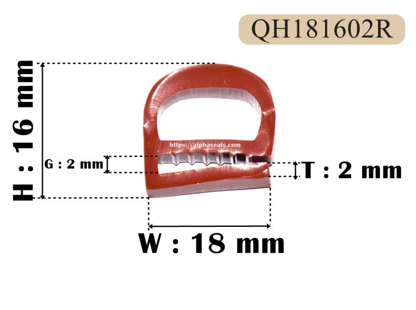 ซีลตู้อบ e-profile ทนความร้อนสูง QH181602R.JPG