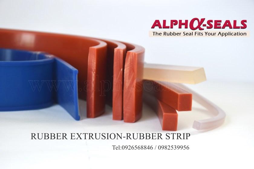 ซี่ลยางสี่เหลี่ยม Rubber Strips