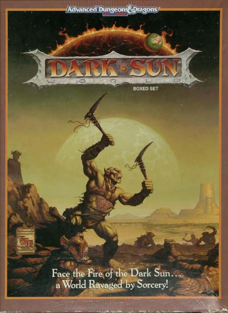 Dark Sun boxed set