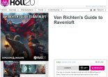 Product page for Van Richten's Guide to Ravenloft on Roll20
