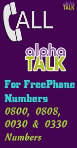freephone numbers