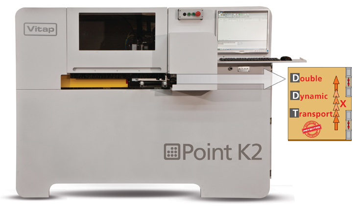 vitap point k2 CNC Automatic Boring Machine