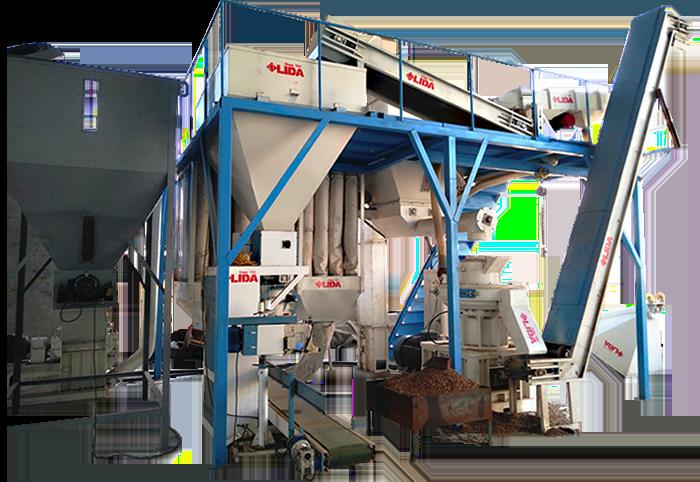 Lida 1-1.5 pellet production line