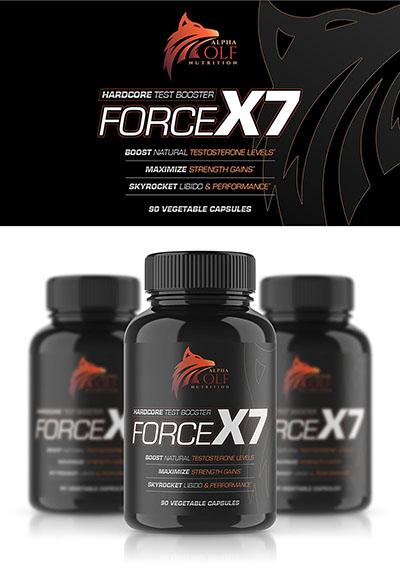 Alpha Wolf Nutrition Testosterone Force X7