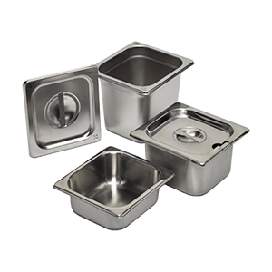 Gastronorm Containers - Stainless Steel