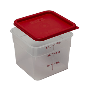 Square Polyprop Containers