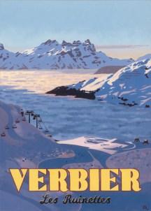 Les Ruinettes, Verbier