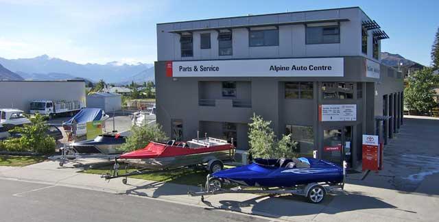 Jet Boats - Alpine Auto Centre, Wanaka
