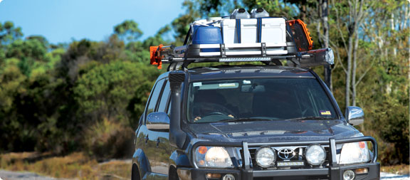 Roof Baskets & Alloy Trays for  cars and 4wd vehicles