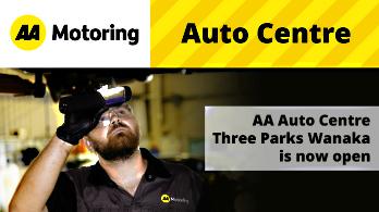 Servicing Technician at AA Auto Centre Three Parks Wanaka Workshop
