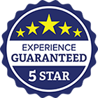 Five Star Experience Guaranteed