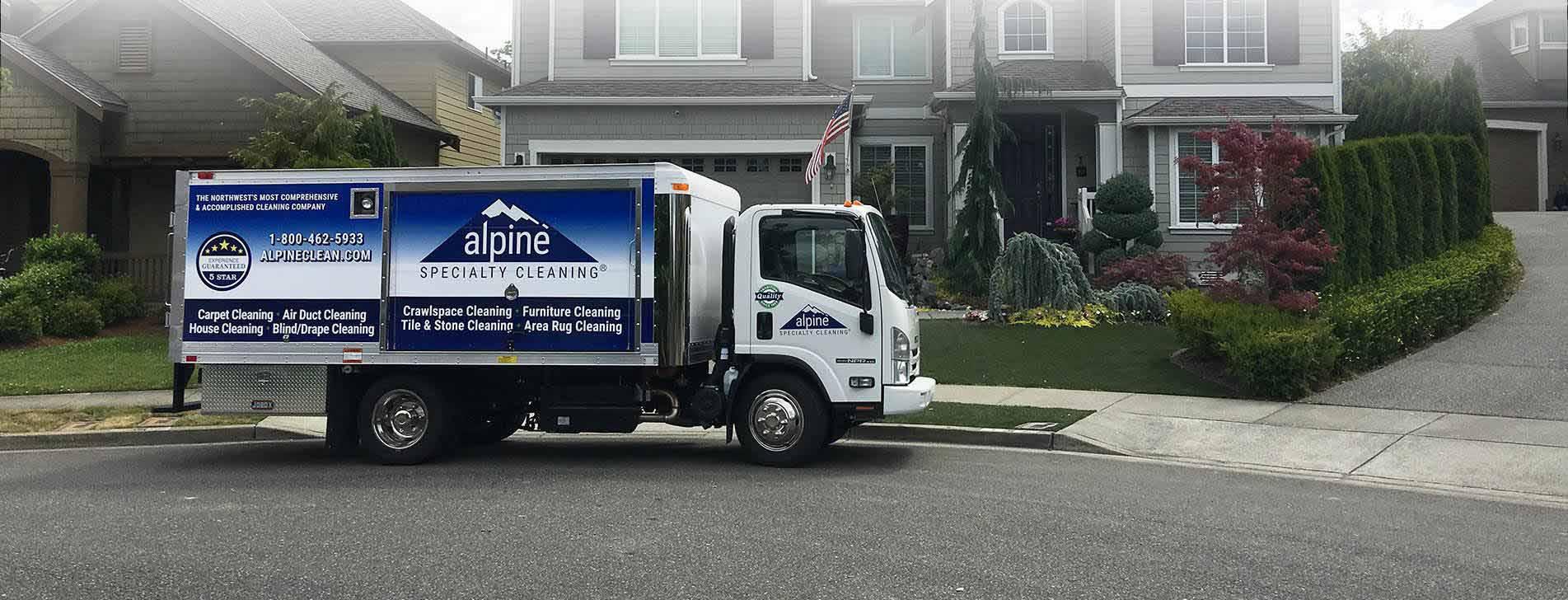 Ultra-Premium Carpet Cleaning Truck Seattle