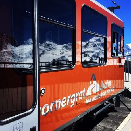 Gornergrat Bahn Glaciers