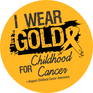 Wear Gold for Childhood Cancer Awareness