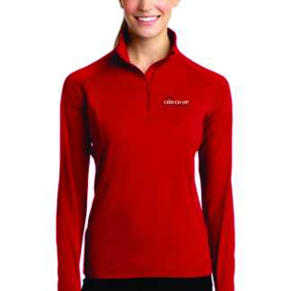 Cbh Sport Tek Ladies Sport Wick Stretch 1 2 Zip Pullover Dilly Prints Llc Shop working person's store to get your hands on one of these fantastic ~sport tek lst850 black 1/2 zip stretch pullovers. alpine impressions and fast break