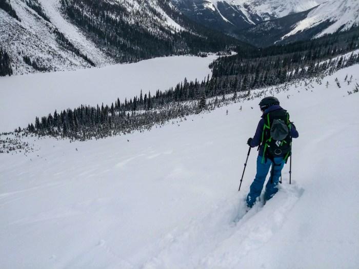 Ski Touring on Ogden Bench